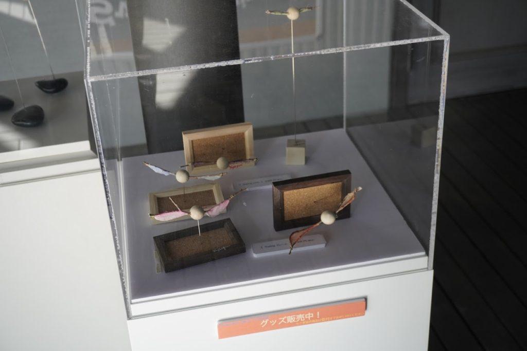 塩江美術館 大島よしふみ展 グッズ販売コーナー