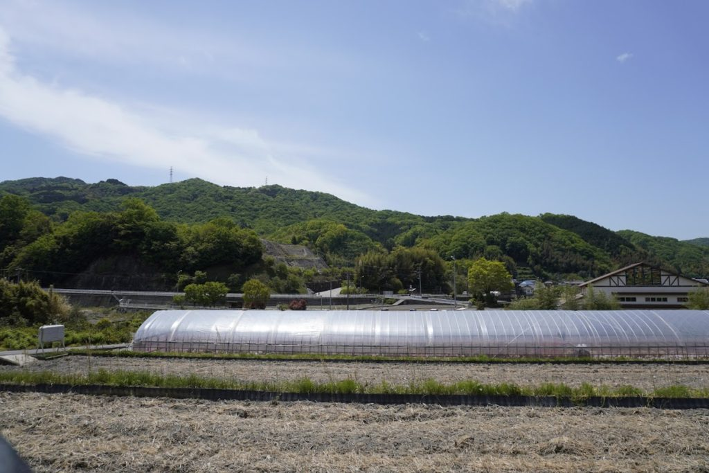 塩江御殿場トンネルからの景色