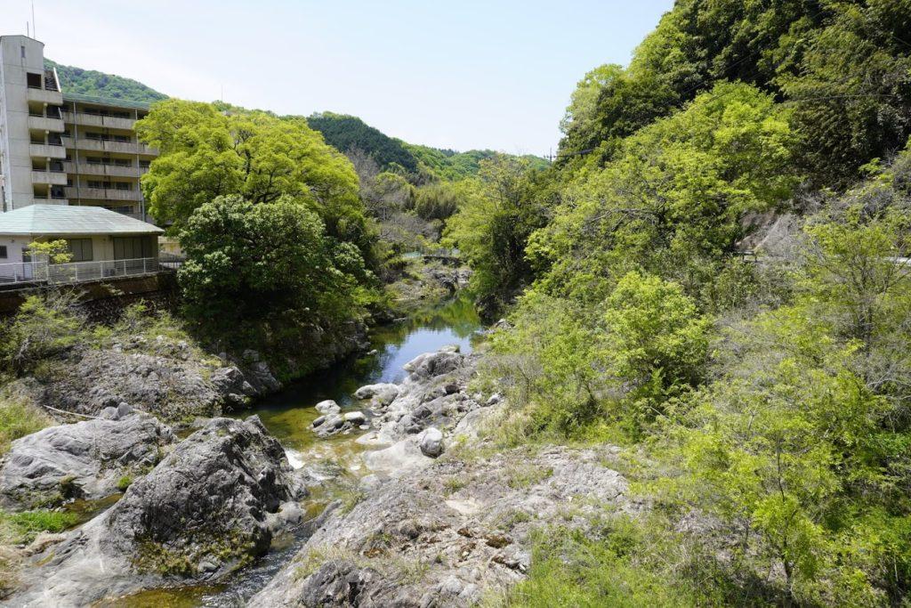 塩江中村新橋から見る香東川