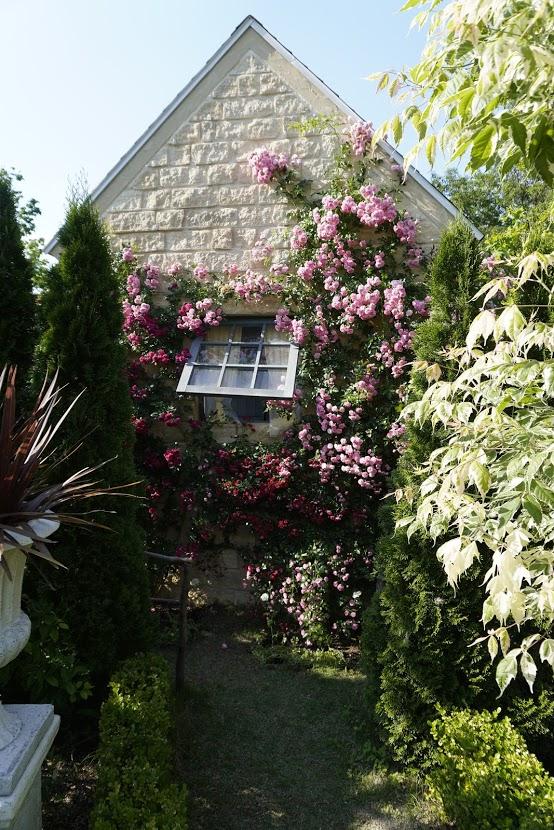 レオマ アリスイングリッシュローズガーデンアリスの家
