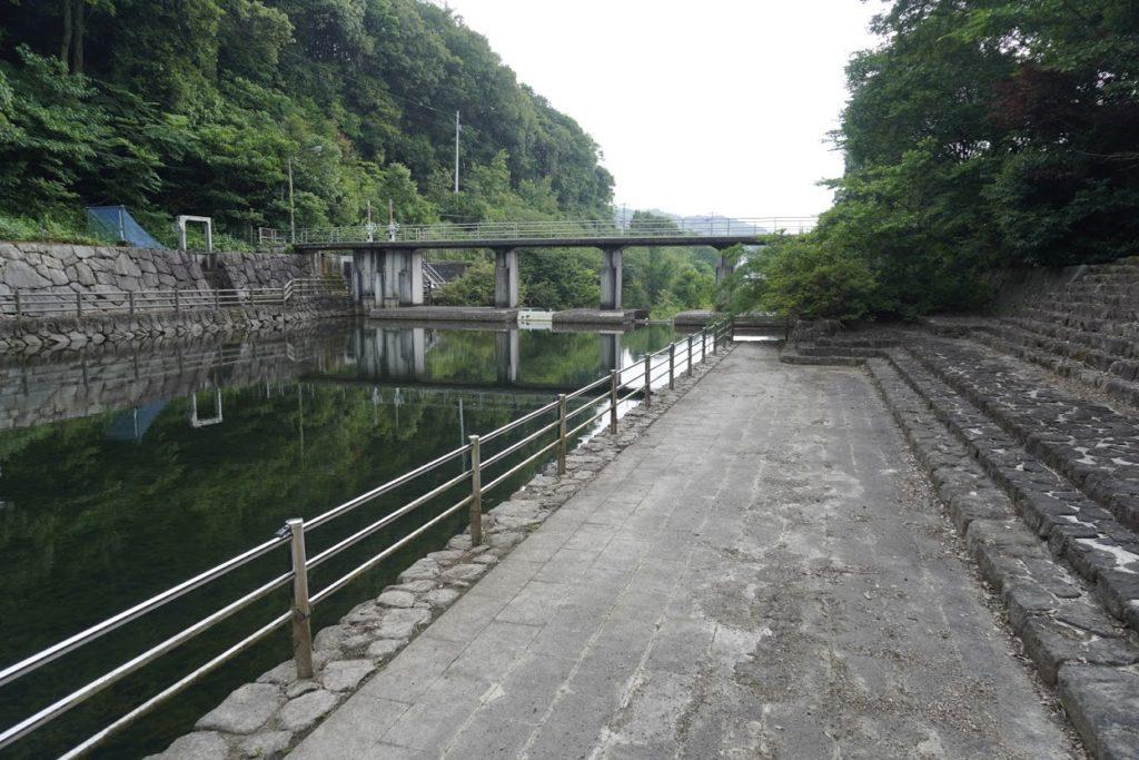 満濃池ほたる見公園 分水樋門