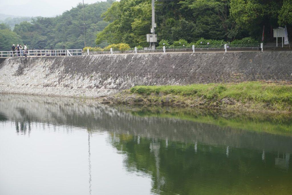 満濃池 おちょうな岩周辺
