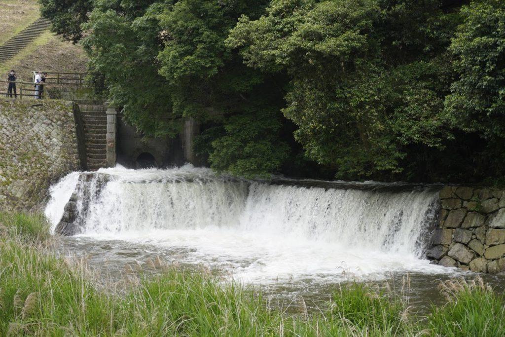 満濃池のゆる抜き