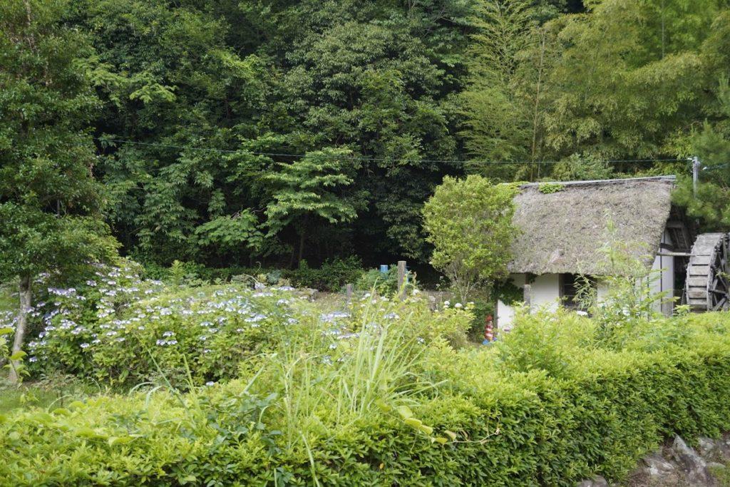 まんのう町 ほたる見公園の水車小屋
