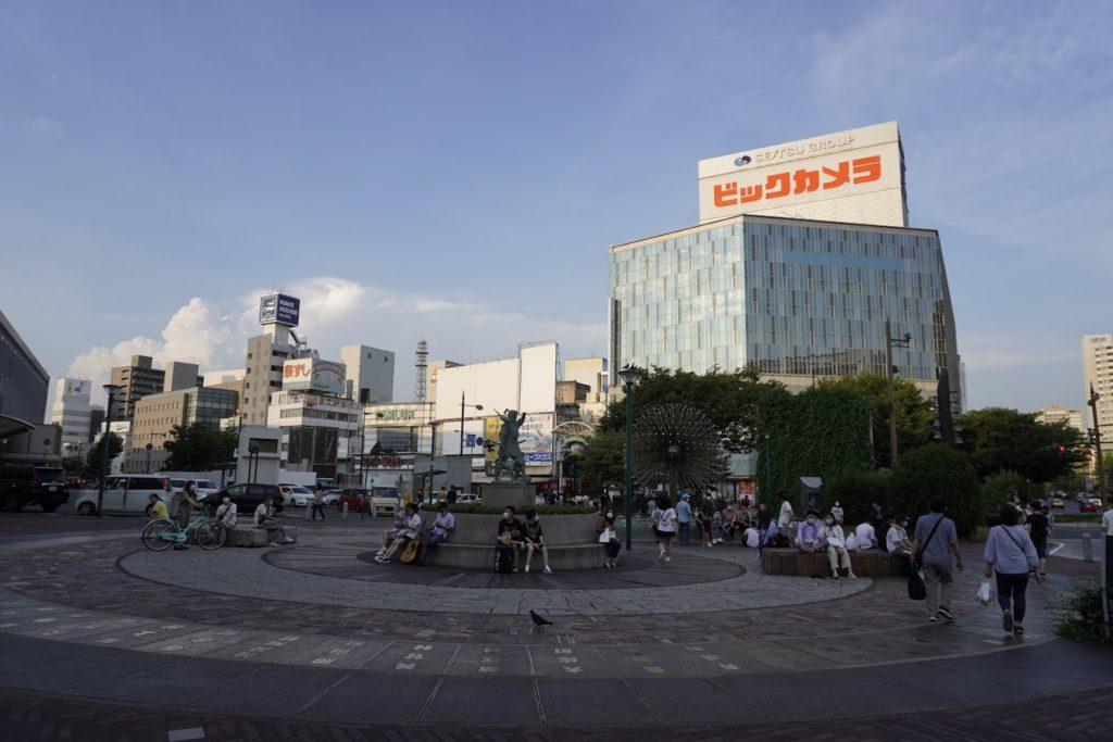 岡山駅前広場