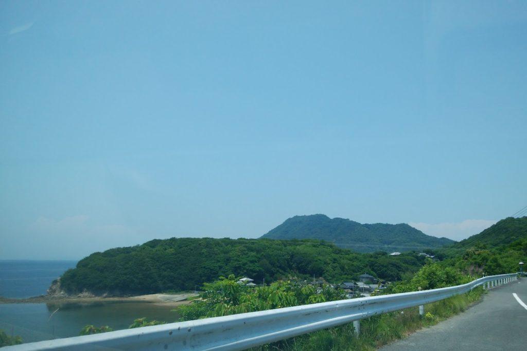 香川県道234号から紫雲出山