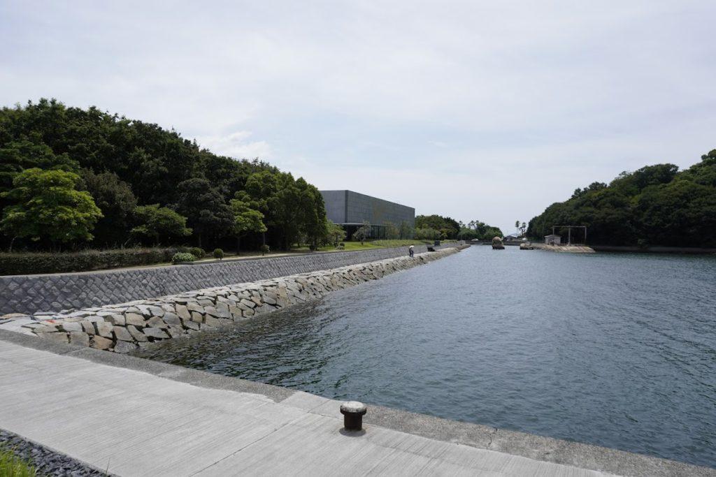 瀬戸大橋記念公園西駐車場から