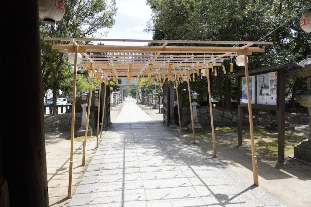 白鳥神社の風鈴
