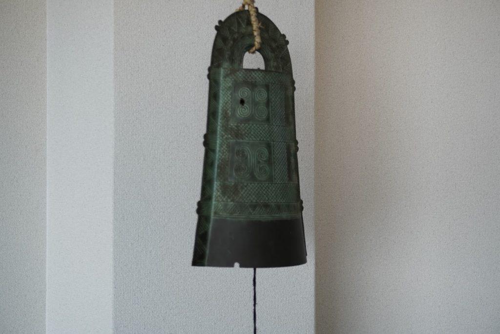 紫雲出山遺跡館の銅鐸