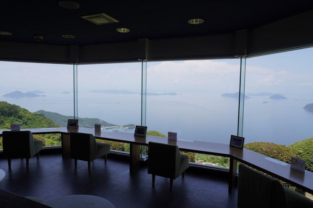 紫雲出山遺跡館からの眺望