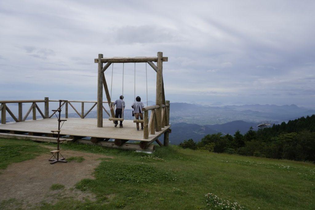 雲辺寺山頂天空のブランコ