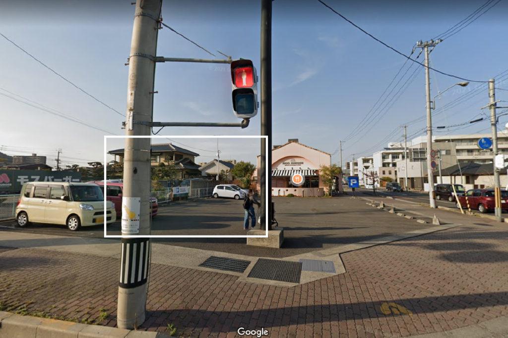 マコーズベーグルカフェのあった場所(桜町)