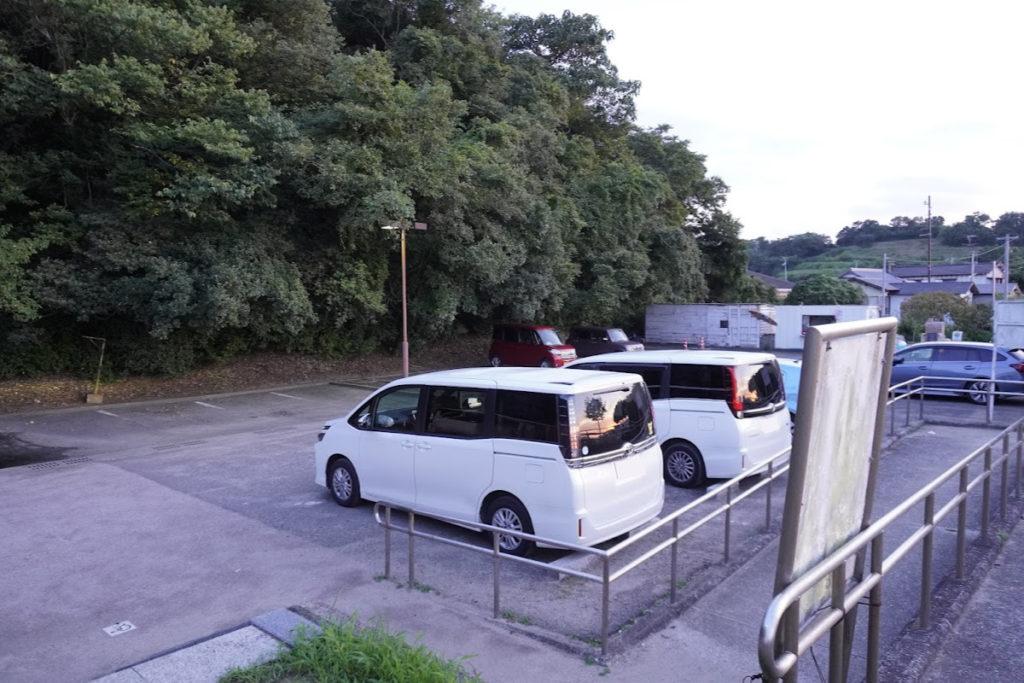 香川県東かがわ市 山田海岸駐車場