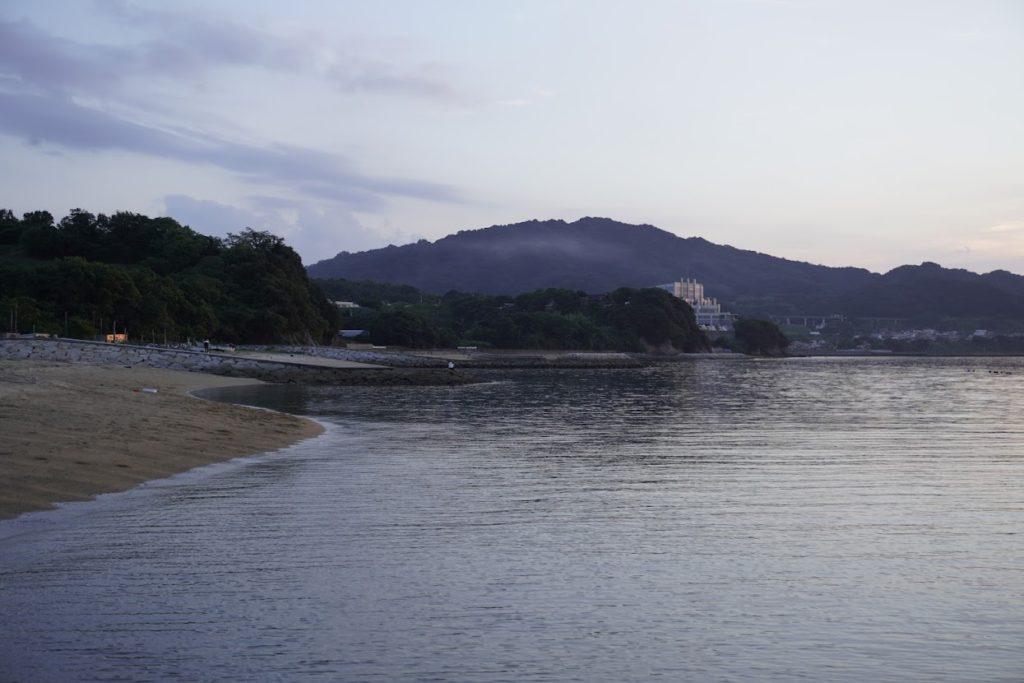 香川県東かがわ市 山田海岸西側
