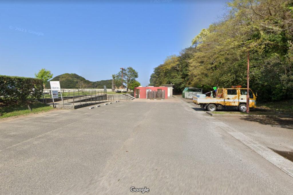 香川県東かがわ市 山田海岸駐車場の場所