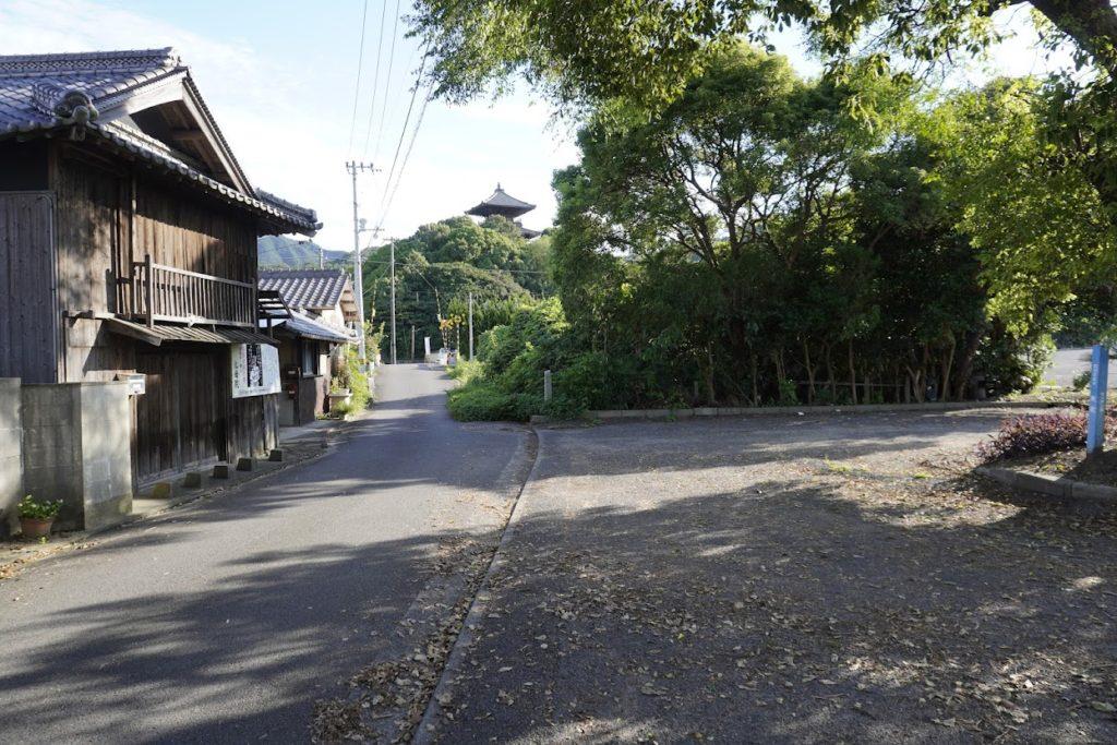 海岸寺奥之院への道