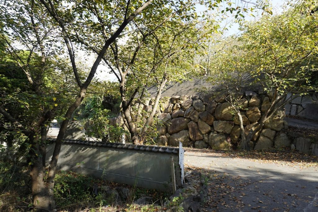 海岸寺奥之院 御盥山(まんだら園)の道