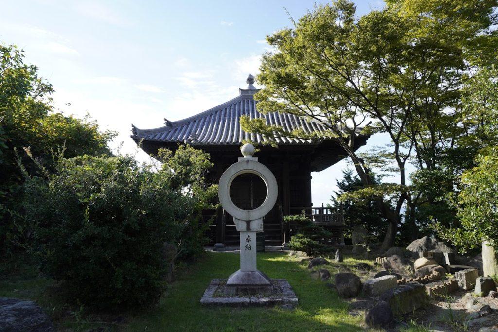 海岸寺奥之院 御盥山(まんだら園)文殊堂