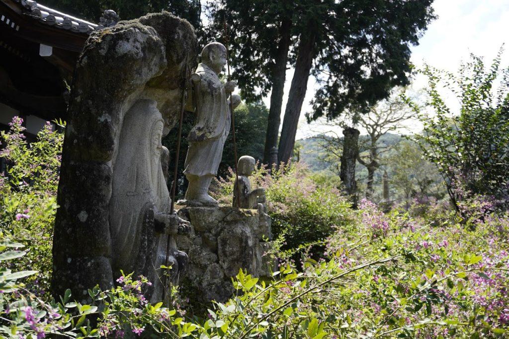 塩江最明寺の萩