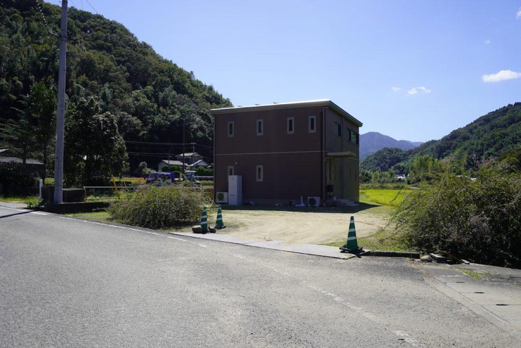 塩江最明寺駐車場の場所が変更