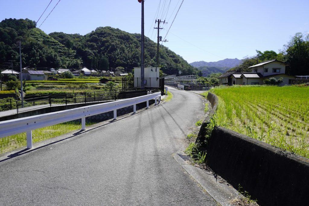 塩江最明寺へ続くの道
