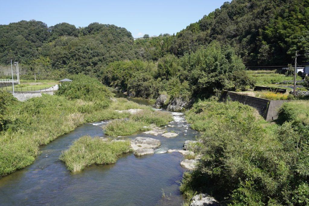 塩江最明寺へ続く途中の香東川