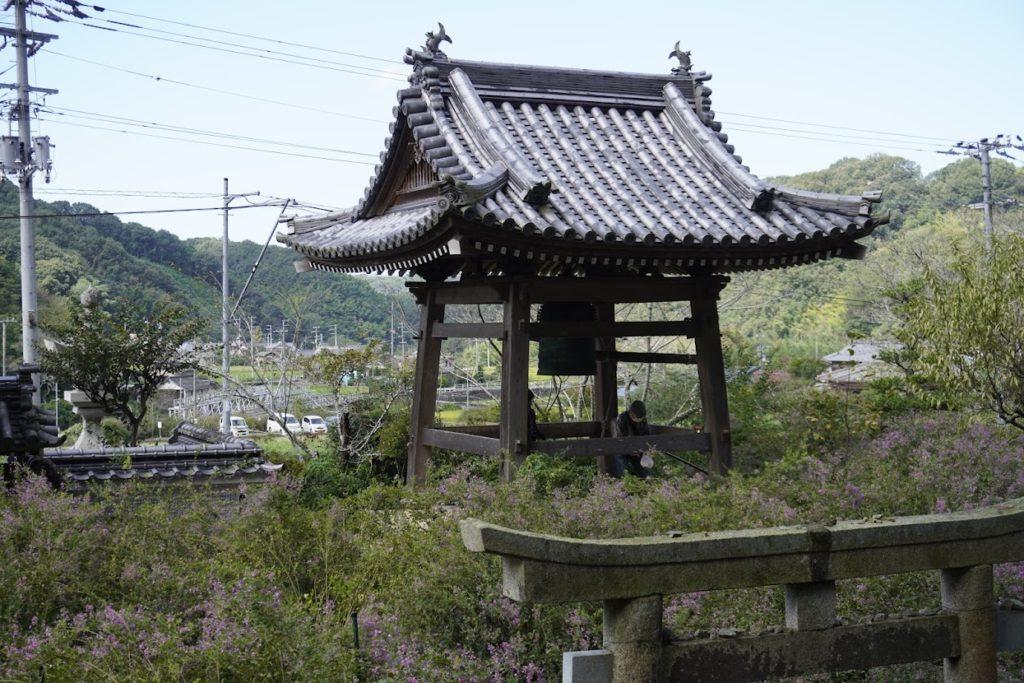 塩江最明寺熊野権現から鐘楼堂